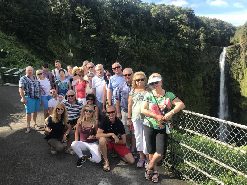 остров Гавайи - водопад Акака