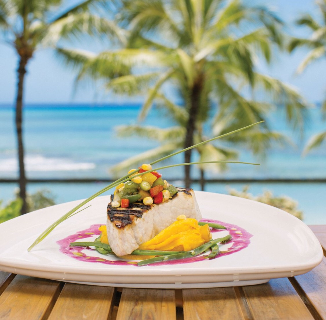 гавайское блюдо