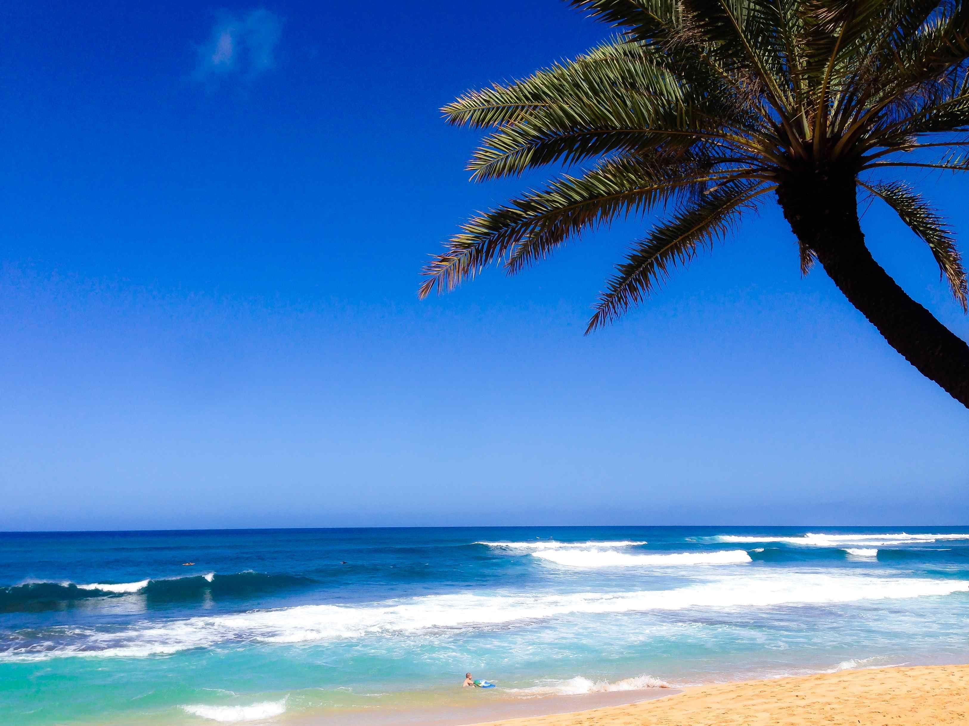 Лучший пляж на Гавайях
